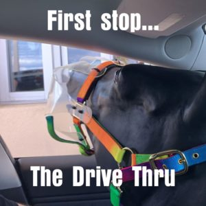 flex and fil Drive thru